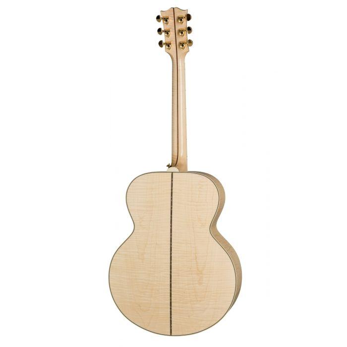 Gibson SJ-200 Standard Electro-Acoustic Guitar Antique Natural Back