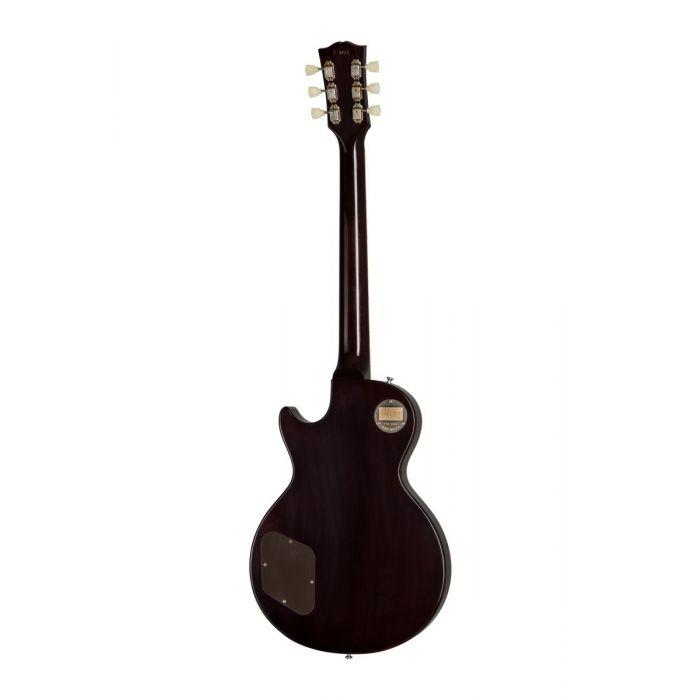 Full rear view of a Gibson 1957 Les Paul Goldtop Darkback VOS guitar