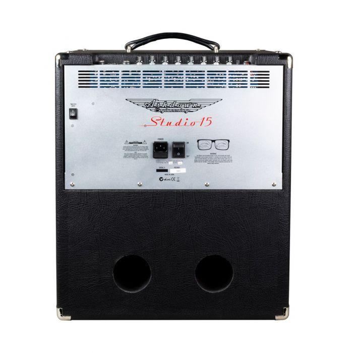 Rear-side view of a 300 Watt Ashdown Studio-15 Bass Combo Amplifier