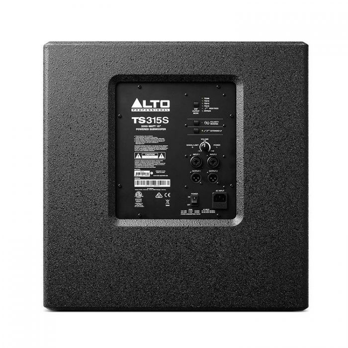 Alto TrueSonic 3 TS315S Powered Subwoofer Rear