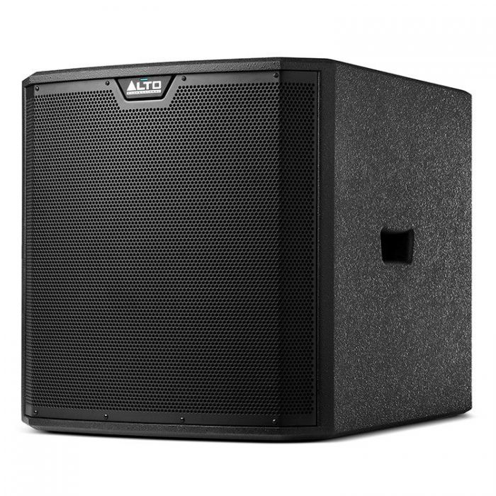 Side Angle View of Alto TrueSonic 3 TS315S Powered Subwoofer