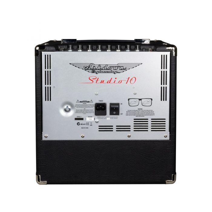 Full rear view of an Ashdown Studio-10 50 Watt bass cmplifier