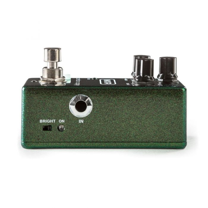 Right-side image of an MXR M299 Carbon Copy Mini Analog Delay Pedal