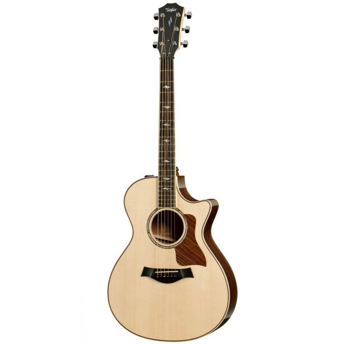 Full frontal image of a Taylor 812ce V-Class Electro Acoustic Guitar