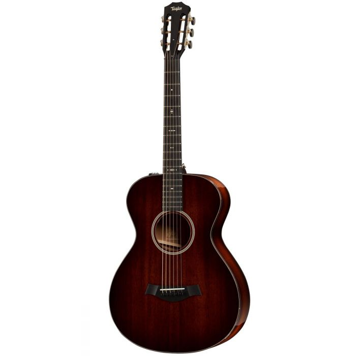 Full frontal image of a Taylor 522e 12-Fret V-Class Electro Acoustic Guitar