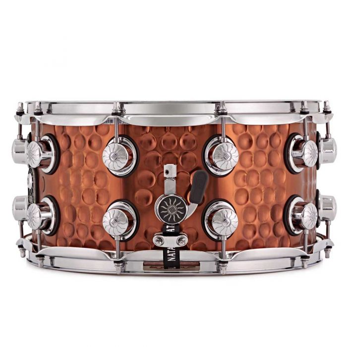 Natal Hand Hammered Steel 13 x 7 Snare Drum Throw Off