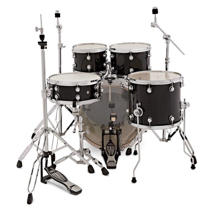 Natal Arcadia Poplar 5-Piece Shell Pack Drummer's View