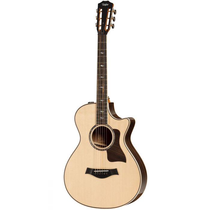 Full frontal view of a Taylor 812ce 12-Fret V-Class Electro Acoustic Guitar