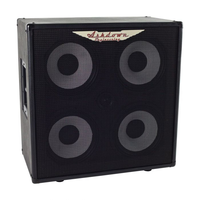 Full frontal view of a Ashdown RM-414-EVO II 600w Bass Cabinet