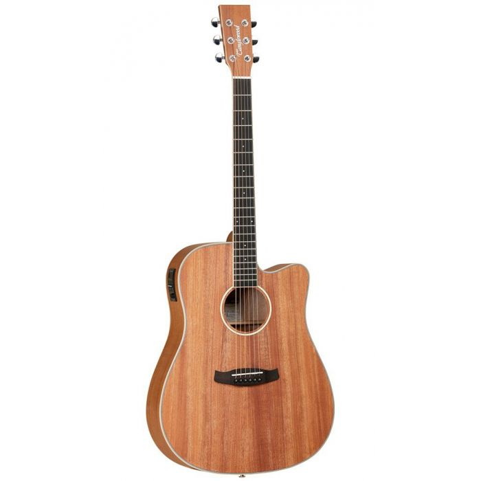 Full frontal image of a Tanglewood TWUDCE Electro Acoustic Guitar