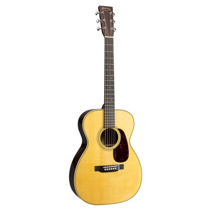 Full frontal view of a Martin 00-28 Grand Concert Acoustic Guitar