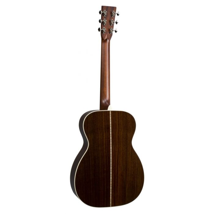 Full rear view of a Martin 00-28 Grand Concert Acoustic Guitar