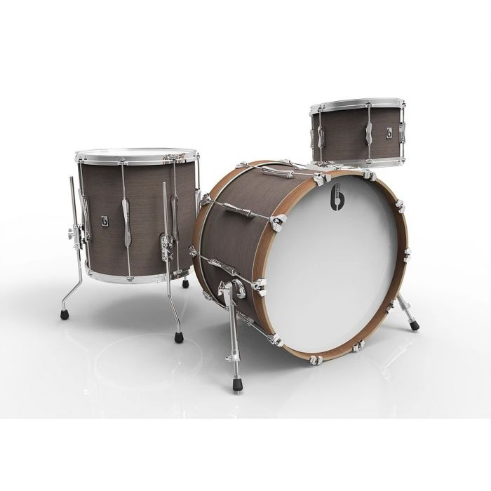 "British Drum Co. Lounge Series 24"" 3-Piece Shell Pack in Kensington Crown"