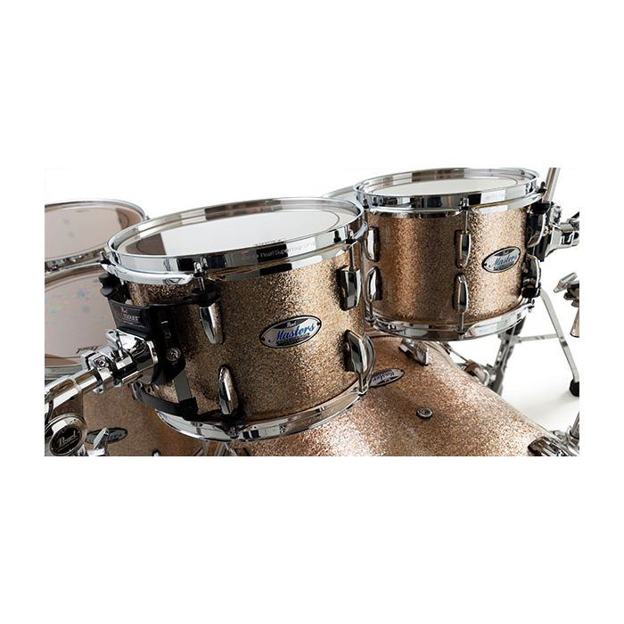 Pearl Masters Maple Complete in Champagen Sparkle Finish