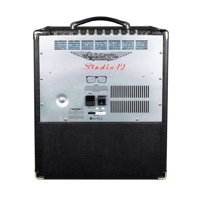Full rear view of a Ashdown STUDIO-12 Super lightweight 110w Bass Combo Amp
