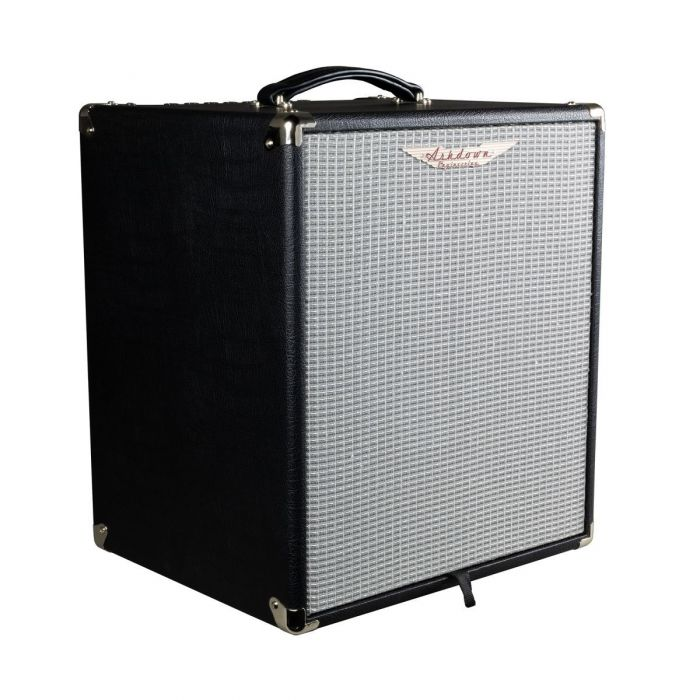 Front left angled view of a Ashdown STUDIO-12 Super lightweight 110w Bass Combo Amp