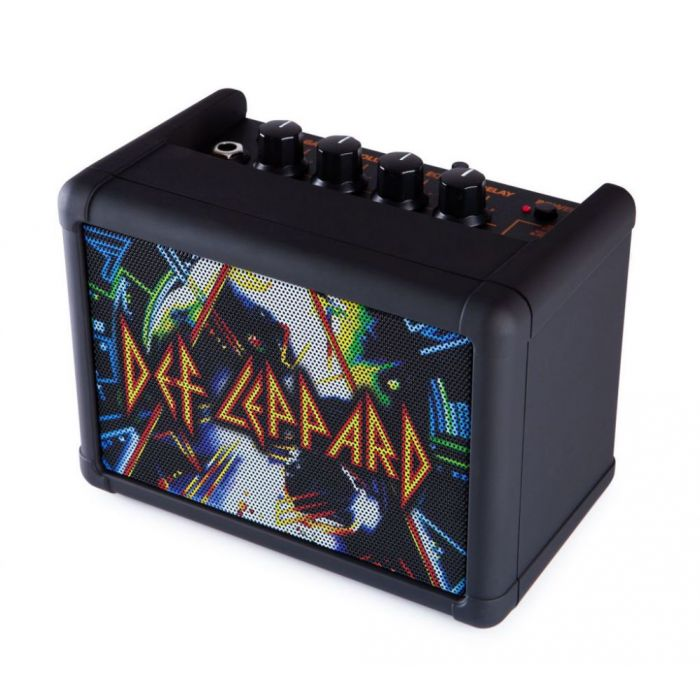 Right angled above Blackstar Limited Edition Def Leppard Fly 3 Amp