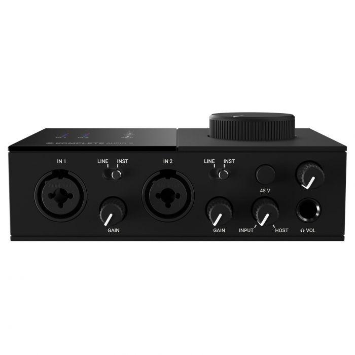 Komplete Audio 2 Front Panel