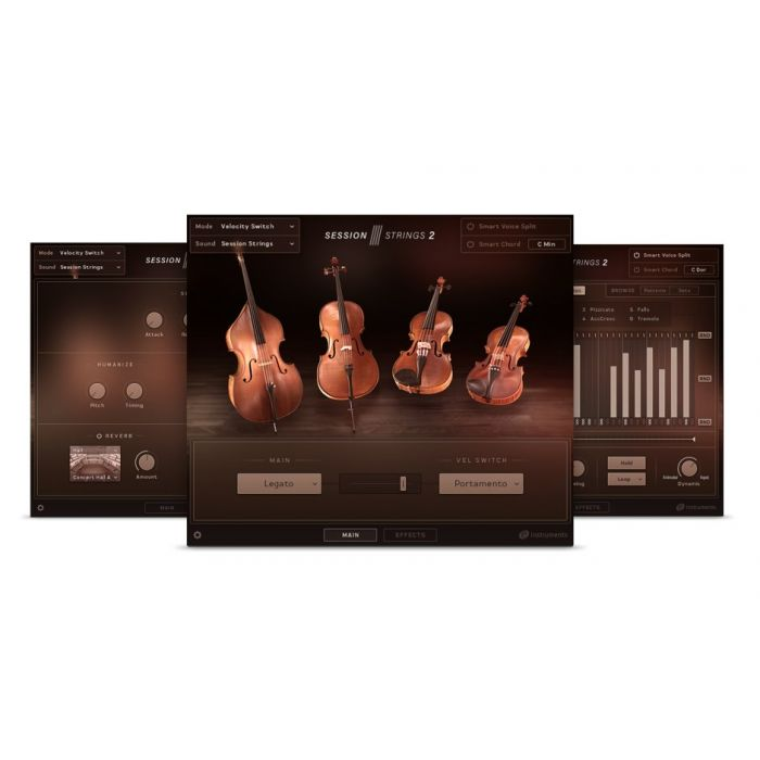 Session Strings 2 - An 11-piece string ensemble with an intimate sound for contemporary tracks.