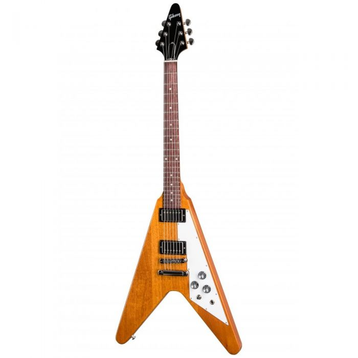 Gibson Flying V Electric Guitar, Antique Natural Finish