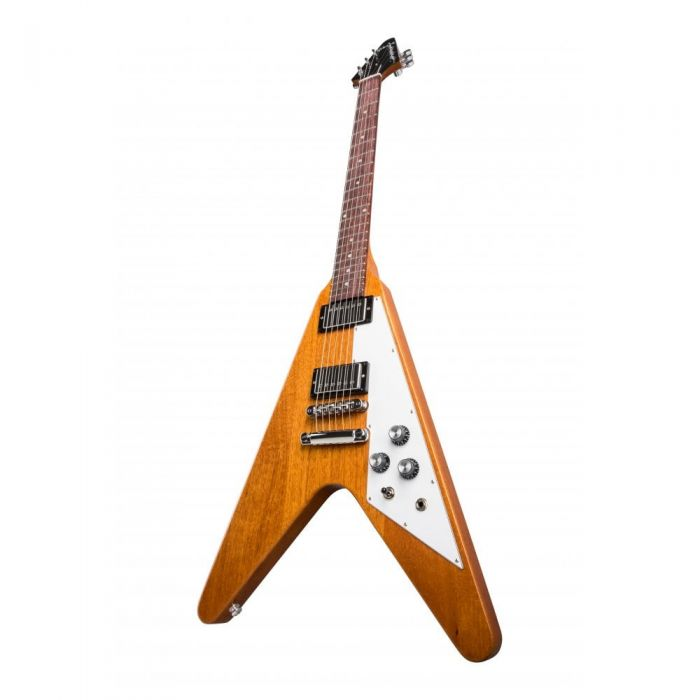 Gibson Flying V Style Guitar, Natural Finish