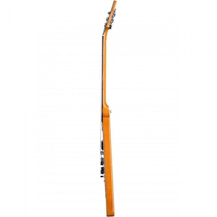 Side View of Gibson Flying V Guitar, Natural Finish