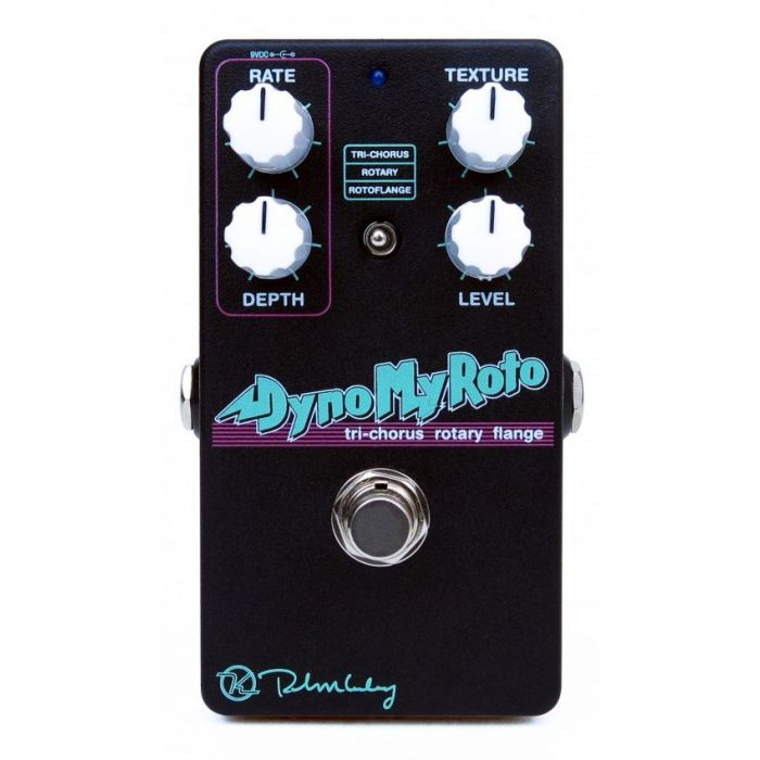 Full view of a Keeley Dyno My Roto effects pedal