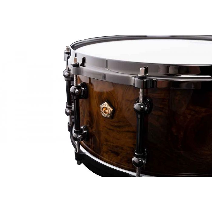 Pearl Masterworks 20th Anniversary Limited Edition Snare Vent Close Up