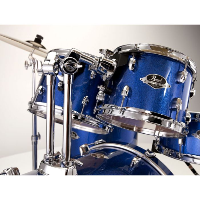 Pearl Export EXX Drum Kit in High Voltage Blue