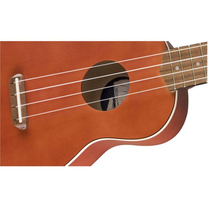 Fender Venice Ukulele Body Detail