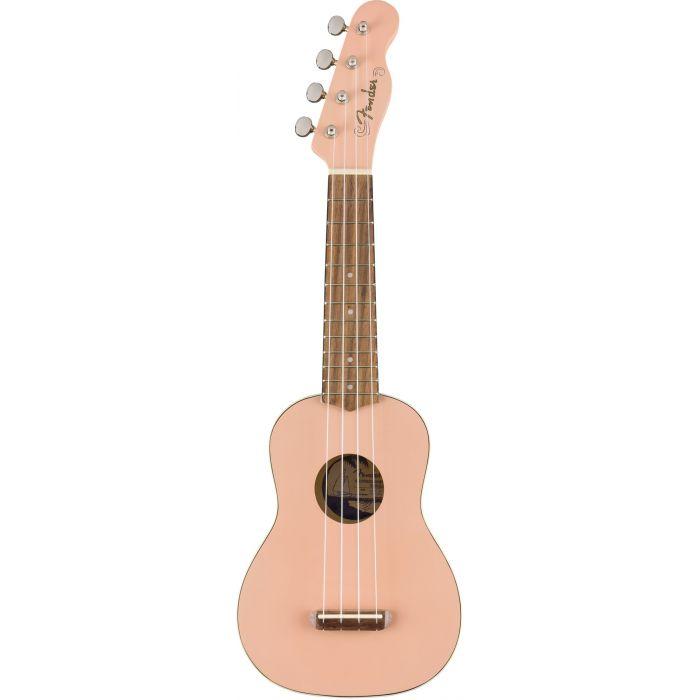 Fender California Coast Venice Soprano Ukulele WN Shell Pink