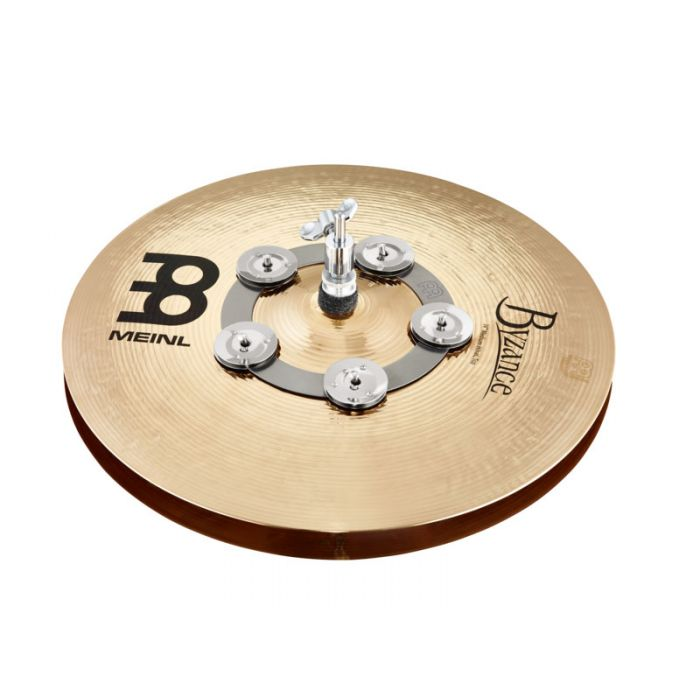 Meinl Ching Ring on Hi-Hat