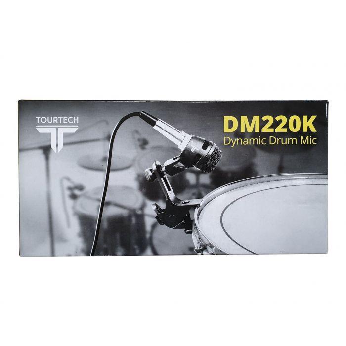 TourTech DM220K Dynamic Drum Microphone Box