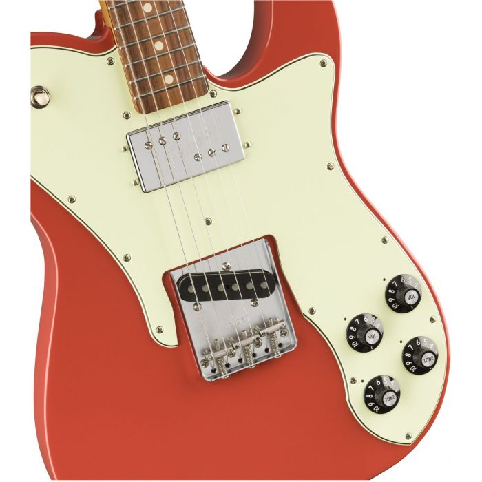 Body Detail with Custom Pickups