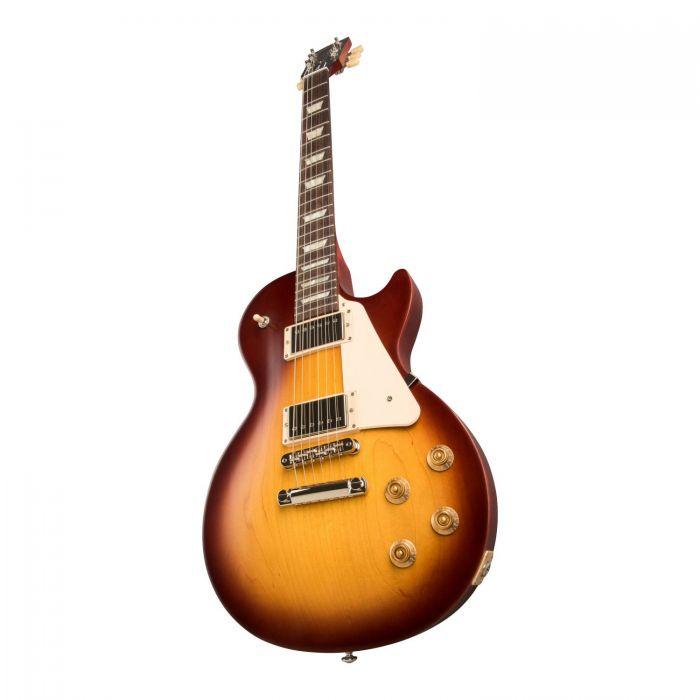 Gibson USA LP Tribute Satin Iced Tea Angle