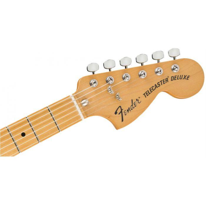 Fender Vintera 70s Telecaster Deluxe Stratocaster Style Headstock