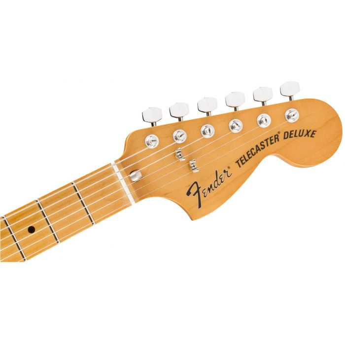 Stratocaster Style Telecaster Deluxe Headstock