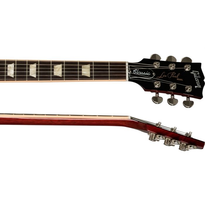 Gibson USA Les Paul Classic Electric Guitar with Heritage Gibson les paul guitar neck and headstock