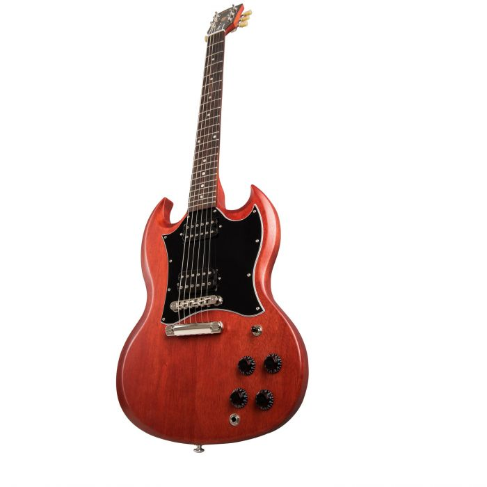 Gibson SG Standard Tribute Electric Guitar, Vintage Cherry Satin