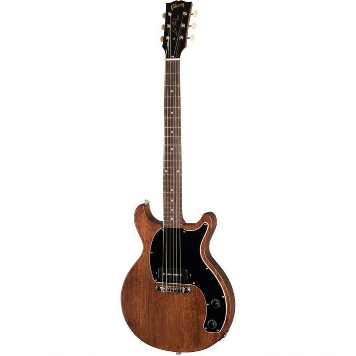 Gibson Les Paul Junior Tribute DC Electric Guitar, Worn Brown