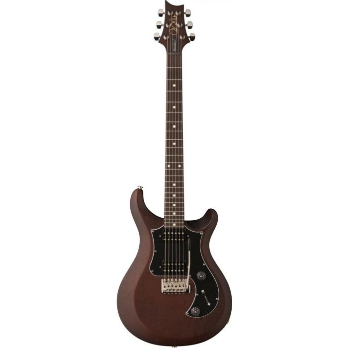 Full frontal view of a PRS S2 Satin Standard 24 Walnut Electric Guitar