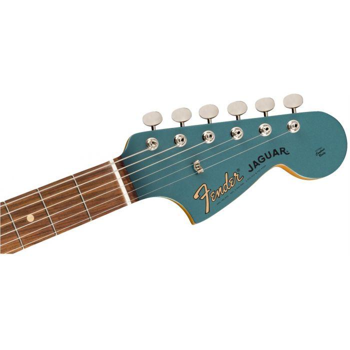 Fender Vintera 60s Jaguar Ocean Turquoise Painted Headstock