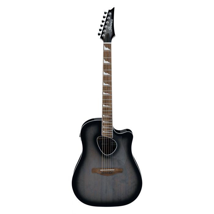 Ibanez Altstar ALT30 Electro-Acoustic Guitar Transparent Charcoal Burst