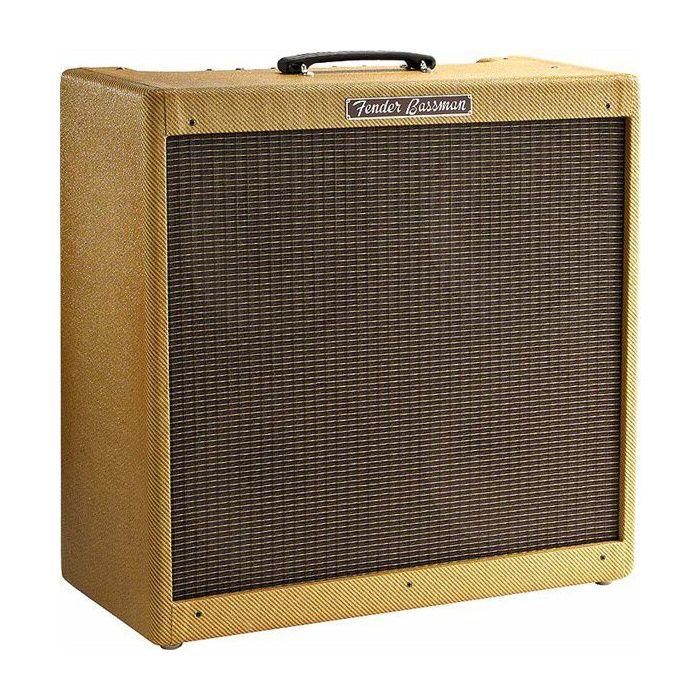 Front right angled view of a Fender 59 Bassman Ltd Bass Guitar Amplifier Combo