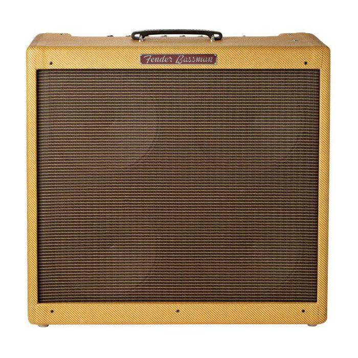 Full frontal view of a Fender 59 Bassman Ltd Bass Guitar Amplifier Combo