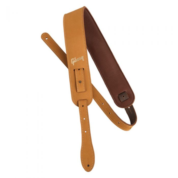Full view of a Gibson The Nubuck Strap Tan