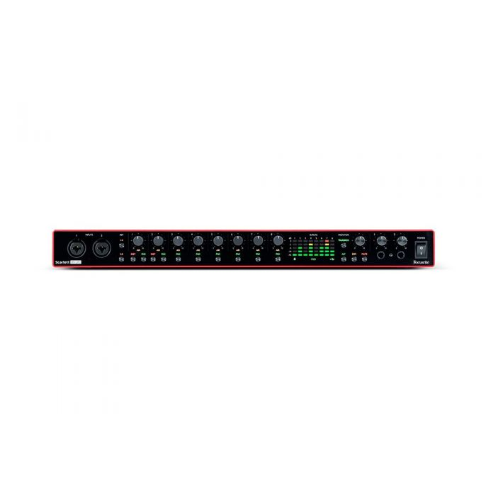 Focusrite Scarlett 18i20 3rd Gen USB Audio Interface Front Panel