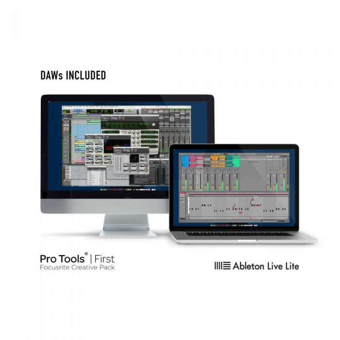 Pro Tools First Focusrite Creative Pack