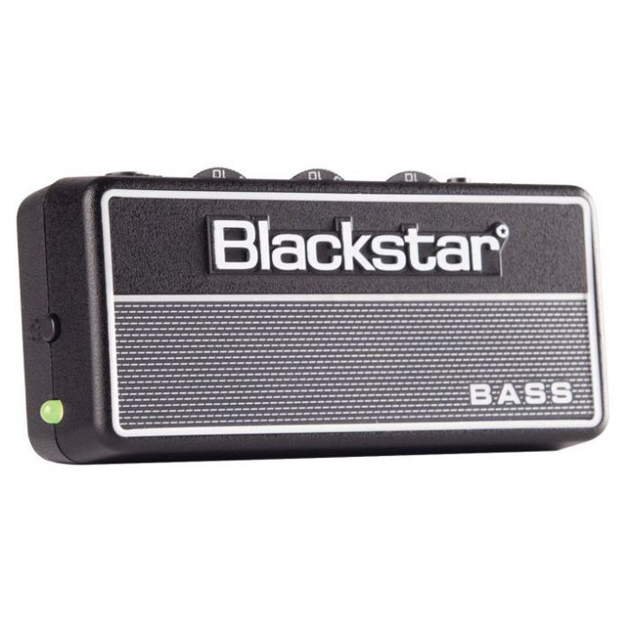 Front right-angled view of a Blackstar amPlug2 Fly Bass Amp