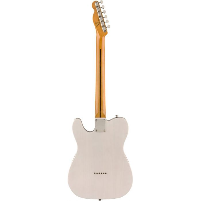 Full rear view of a Squier Classic Vibe 50s Telecaster MN White Blonde
